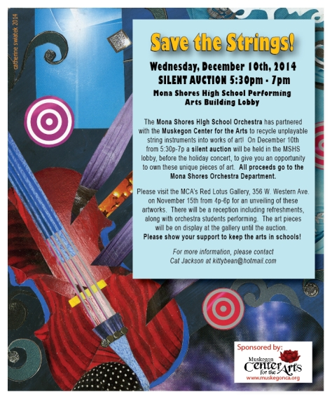 SAVE THE STRINGS MSHS Ad Dec.2014