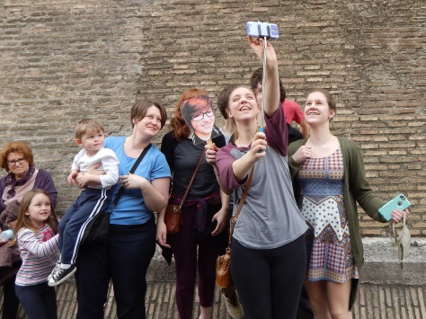 Selfies at the Vatican