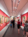 Illegal Pic taken of gallery on loan, in the Accademia