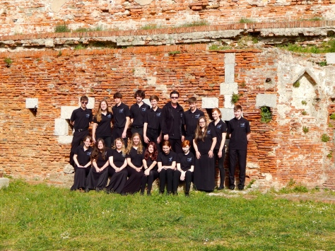 MSO Italy performance Group on top of the Fortress.