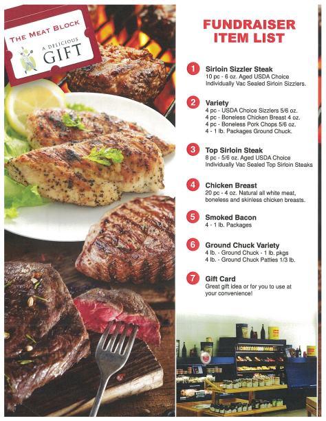 Meat Block Item List