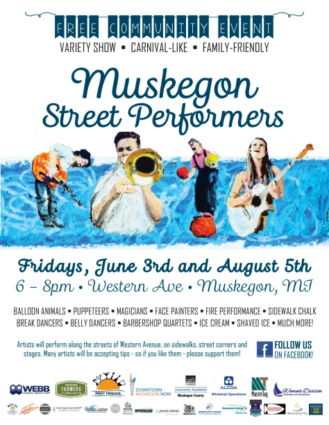 Muskegon Street Performers Poster